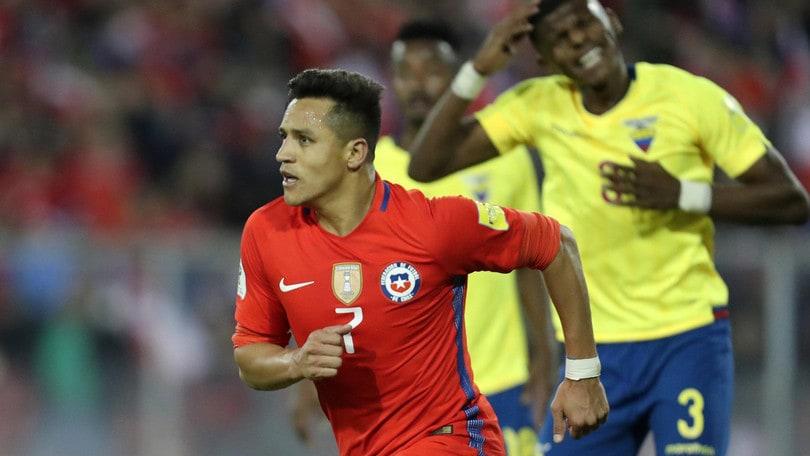 Qualificazioni mondiali: Brasile-Cile, colpo Roja a 4,50