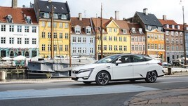 Honda Clarity Fuel Cell, immagini live
