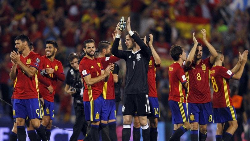 La Spagna vola al Mondiale: travolta 3-0 l'Albania