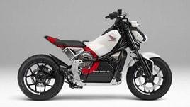 Honda Riding Assist-e, la moto elettrica a guida autonoma
