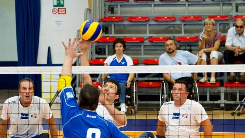 Sitting Volley: gli azzurri di scena a Reggio Emilia