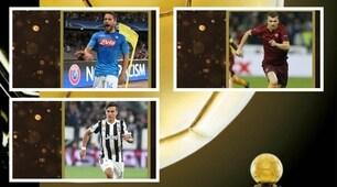 Pallone d'Oro 2017: Mertens, Buffon, Dybala e Dzeko tra i candidati