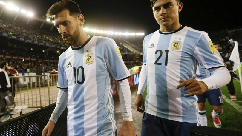 Mondiali 2018: Argentina c'è solo il «2» a 1,43