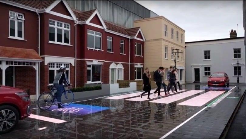 A Londra si testa la segnaletica stradale interattiva