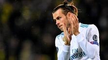 Real Madrid, Bale infortunato: fuori un mese
