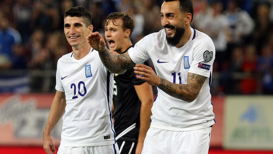 &nbsp;<strong>GRECIA</strong><br />&nbsp;Precedenti: 5 vittorie, 3 pareggi, 1 sconfitta (ultima partita Grecia-Italia 1-1, amichevole 2008)