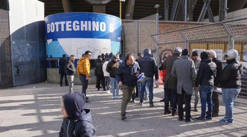 Tradito da un biglietto per Napoli-Inter: arrestato latitante
