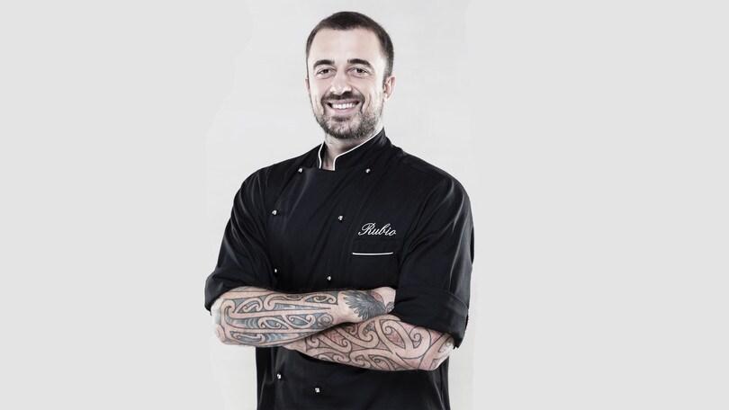 Chef Rubio e il suo cooking show all'Aran Store