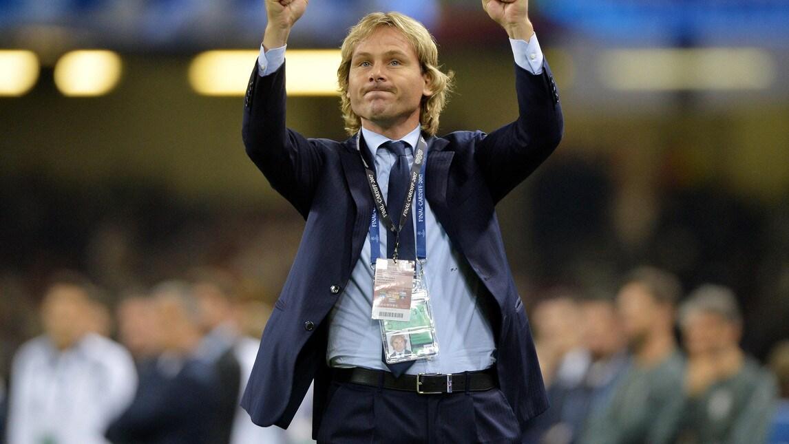 Pavel Nedved, è ora il vicepresidente della Juventus