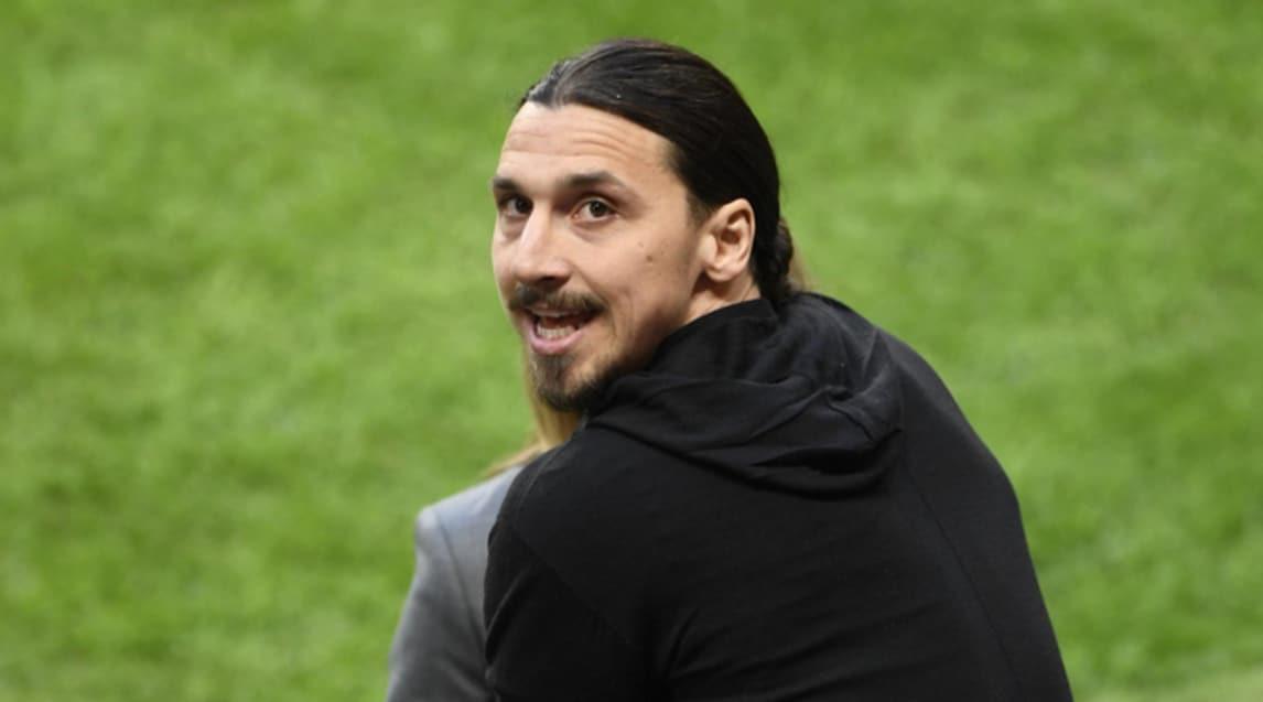Zlatan Ibrahimovic, attaccante del Manchester United, ora è fermo per infortunio