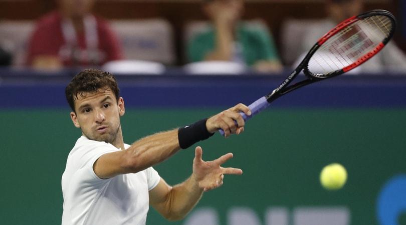 Tennis, Shangai Rolex Masters: Dimitrov accede ai quarti di finale