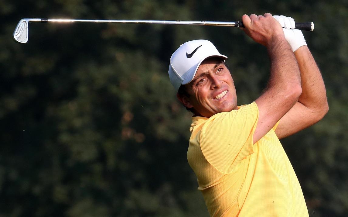 Golf, Open d'Italia: Francesco Molinari vola in testa