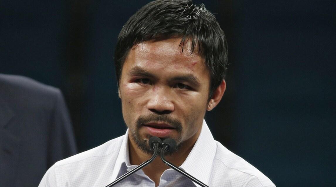 """Manny Pacquiao: uno dei migliori pugili degli ultimi anni, primo e unico campione mondiale in otto categorie di peso, """"Pac-Man"""" è anche un uomo politico importante nelle sue Filippine, dove è diventato senatore"""