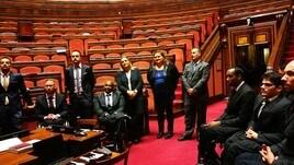 Il Santa Lucia Basket in Senato