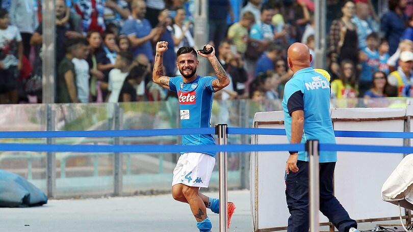 Serie A, Roma-Napoli: Insigne gol, fine tabù a 3,30