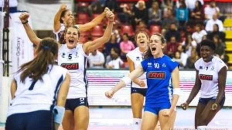 Volley: A2 Femminile, la seconda giornata inizia con tre anticipi