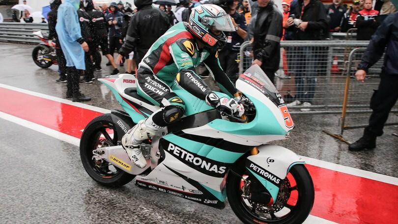 Moto2 Giappone, Syahrin primo nelle terze libere