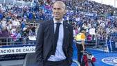 Zidane festeggia le 100 partite con il Real: vittoria a Getafe