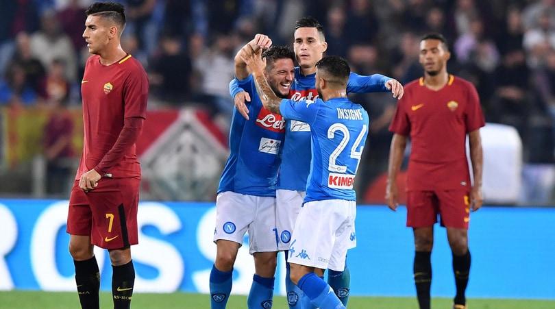 Roma-Napoli 0-1: Insigne gol, Sarri sbanca l'Olimpico