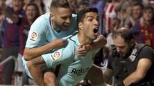 Una tempo per parte: Atletico Madrid-Barcellona finisce 1-1