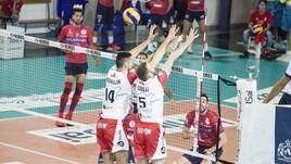 Volley: A2 Maschile, Girone Bianco: Roma imperiosa rimonta a Santa Croce
