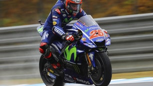 MotoGp Yamaha, Vinales: «Gara difficile, ho fatto del mio meglio»