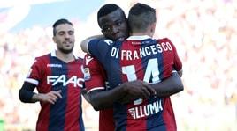 Bologna, 2-1 alla Spal: derby e terza vittoria consecutiva
