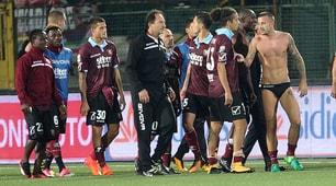 Festa Salernitana, Minala decide il derby con l'Avellino al 96'