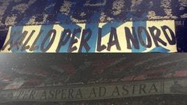 Inter-Milan, ecco il derby delle coreografie a San Siro
