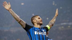 Inter-Milan 3-2, Icardi show: è tripletta!