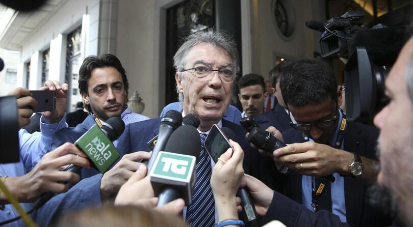 Calciomercato, Moratti: «Cristiano Ronaldo? Complimenti alla Juventus»