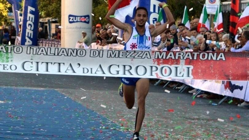 Rachik e Brogiato i campioni d'Italia sulla mezza maratona