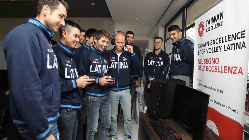 Volley: Superlega, presentato a Roma il matrimonio Taiwan Excellence-Top Volley Latina