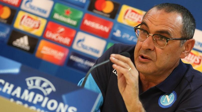 Sarri, niente turnover:«City-Napoli gara impossibile? Sì, quindi giochiamocela»