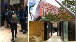 Il Napoli sbarca a Manchester: ecco l'albergo degli azzurri