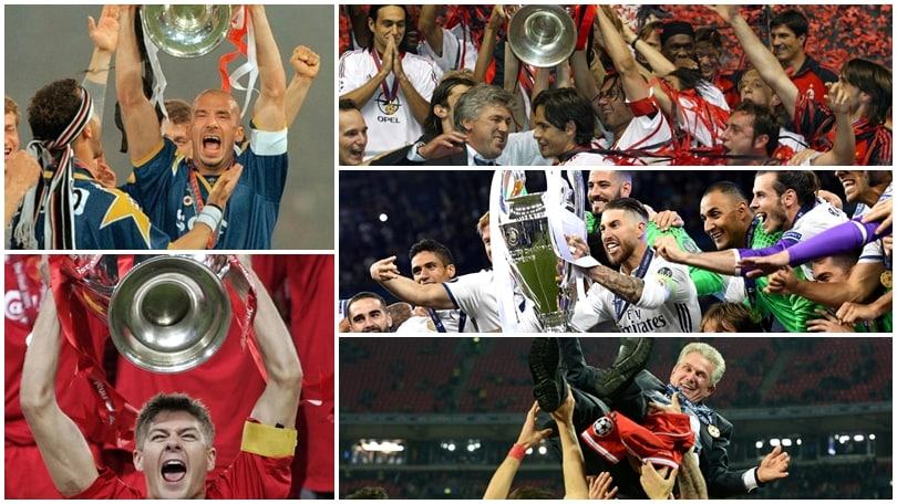 Qual è la migliore squadra nella storia della Champions League?