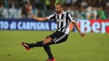 Juventus, Chiellini: «Bonucci? Faccio il tifo per lui»