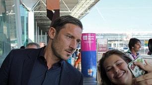 Champions, la Roma in partenza per Londra. C'è anche Totti