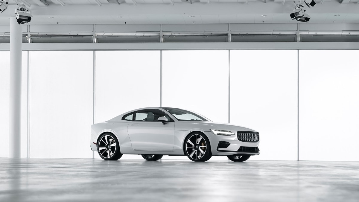 Volvo Polestar 1, l'anti-Tesla made in Cina