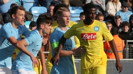 Youth League, Manchester City-Napoli 3-1: baby azzurri ko