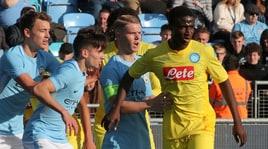 Youth League, Manchester City-Napoli 3-1: baby azzurri ko