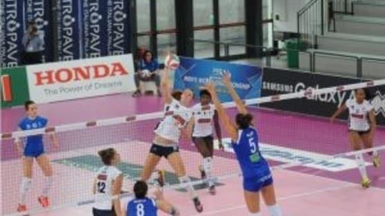 Volley: A2 Femminile, ancora un successo per il Club Italia
