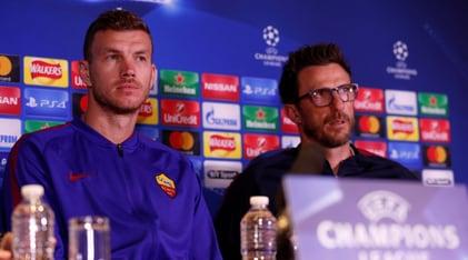 Champions League, Di Francesco: «La Roma non giocherà per il pari»