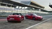 Porsche 718 Cayman e Boxster, le nuove GTS da quasi 300 km/h