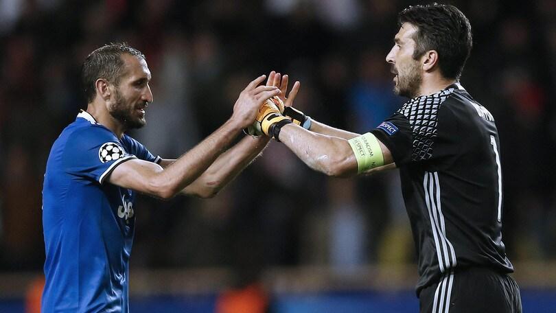 Juventus, Chiellini: «Buffon merita il premio Fifa»