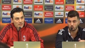 """Montella: """"Il Milan è alla ricerca di un abito giusto"""""""