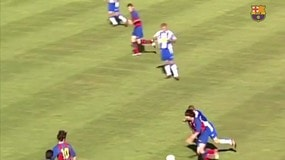 Barcellona, 13 anni di Messi: ecco le magie mai viste