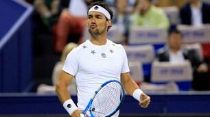 Tennis, Fognini vola ai quarti al torneo di Stoccolma