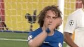 David Luiz furioso con Conte per il cambio: «Vaffa... mister!»