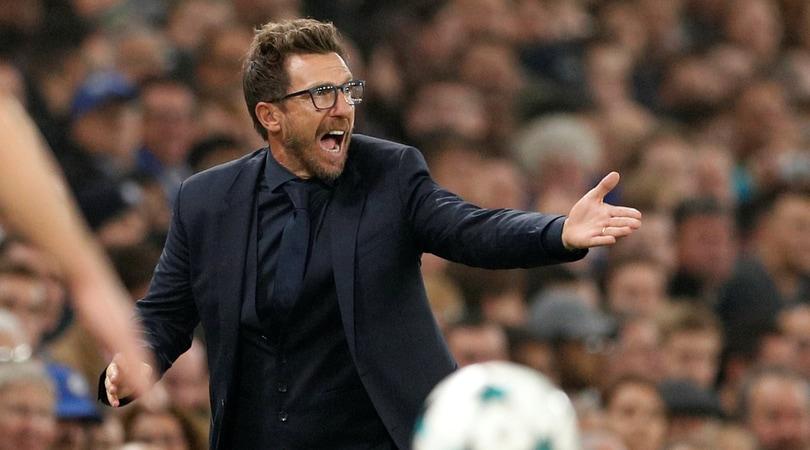 Roma, Di Francesco: «C'è rammarico, se giochi così devi vincerla»